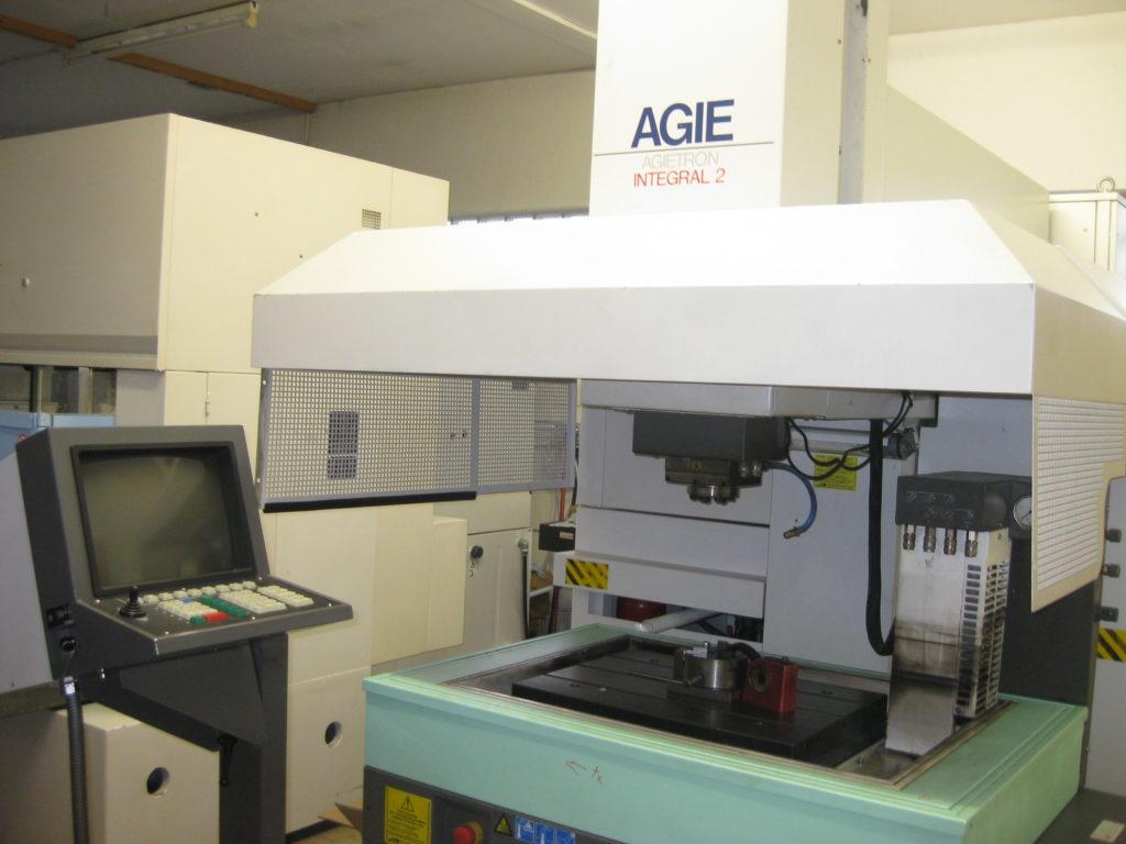 Maschine von AGIE Integral -CNC-Senkerodiermaschine