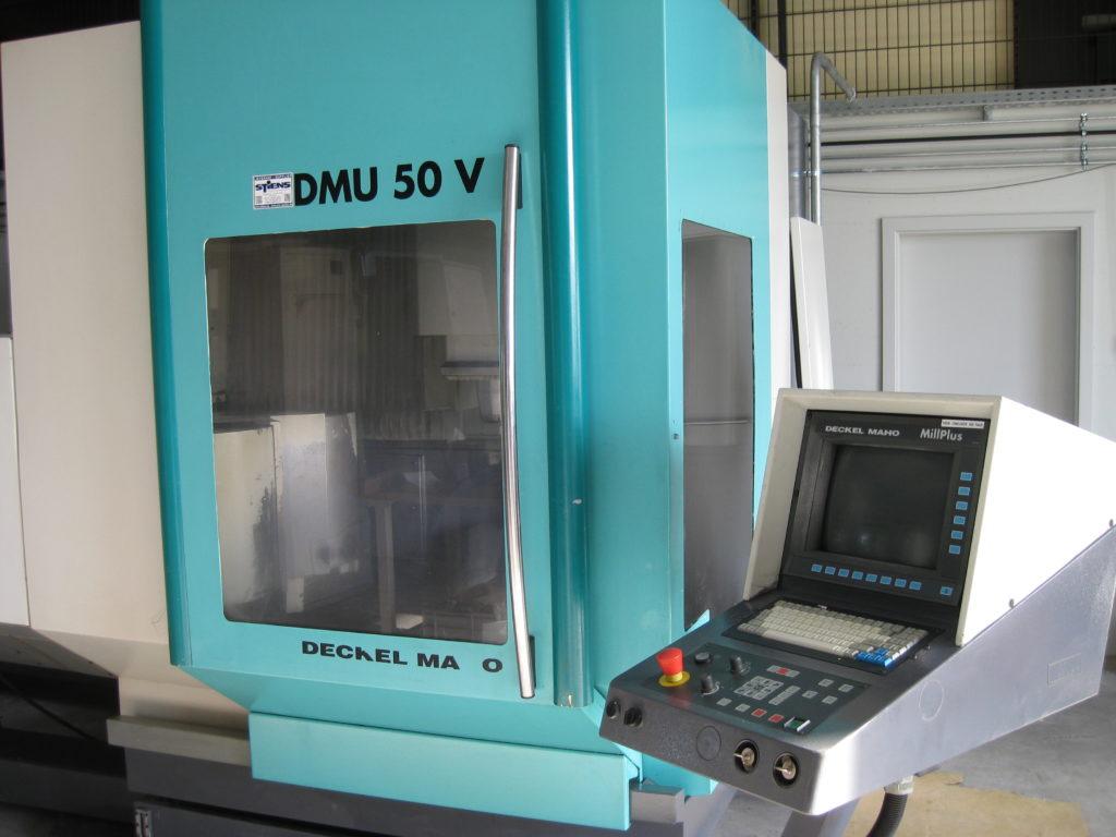 Maschinenpark DMU CNC Bearbeitungszeentrum