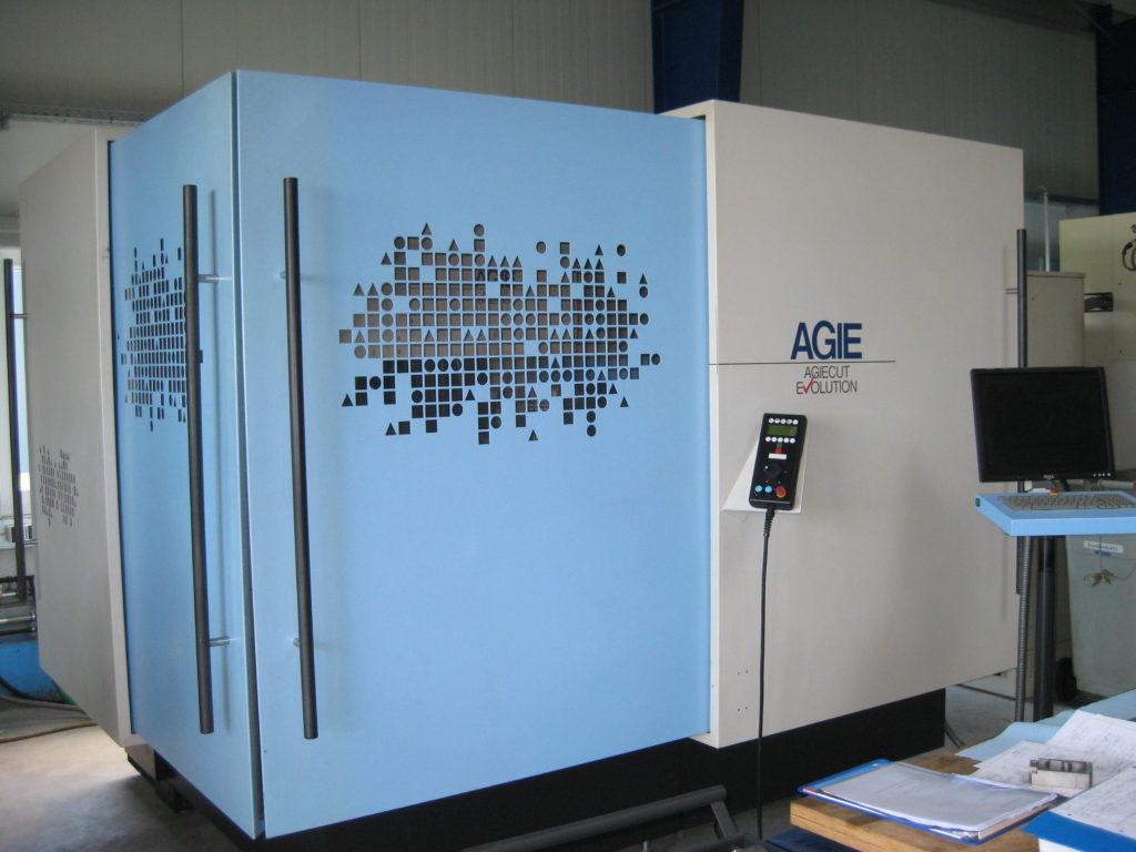 Maschinenpark AGIE-Evolution Drahterodiermaschine